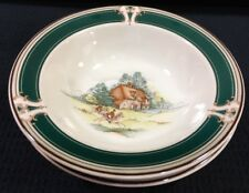 2 Keltcraft By Noritake Pursuit 7 Inch Cereal Soup Bowls 12 Ozs 9170 Ireland