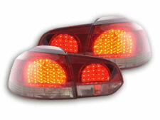 2 lights faros ARRIÈRE FEUX  4250414625702  VW Golf 6 1K  08 nero/red