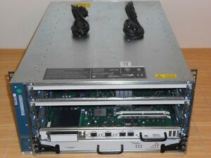 CISCO 12404 GSR4/80-AC 4-Slot Chassis Router 2xAC Power CSF Card+PRP-1 Processor