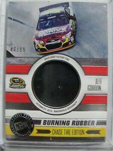 Jeff Gordon 2014 Press Pass Burning Rubber Race Used Win Tire SP BRC-JG #49/99