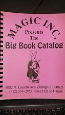 Magic Catalog MAGIC INC PRESENTS THE BIG BOOK CATALOG Brand New