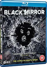 Black Mirror Complete Series 4 Fourth (Blu-ray)~~~Charlie Brooker~~~NEW  SEALED