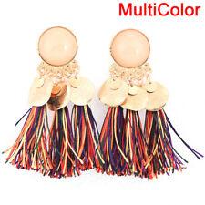 Long Tassel Drop Dangle Earrings Bohemian Ear Stud Earrings Women Jewelry FG