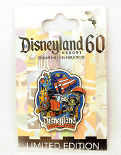 Disney Pin Disneyland 60th Diamond DECADE ERA COLLECTION 1975 1984 LE Jiminy