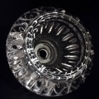 Runder Glasschirm Ersatzglas Glasersatz Lampenglas Kristall G4 klar Tischlampe