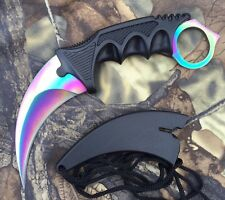Counter Karambit  FADE GO Skin Real Knife CS Strike Messer NEU+OVP