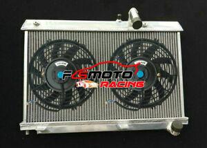 Alu Radiator +Fan For Mazda RX8 FE Series1 13B Renesis 1.3L Petrol 2003-2012 MT