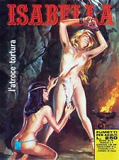PRINT COMIC BOOK ISABELLA ADULT ATROCIOUS TORTURE TICKLE FEATHER ITALY NOFL0578