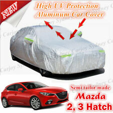 Waterproof Car Cover Sun UV Rain Resistant for Mazda 2 Mazda 3 Hatchback