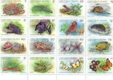 Christmas Island-Wildlife-Special sheet-mnh-229a-sheet of 16