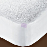Waterproof Cot bed cover Terry Towel Mattress Protector Fitted Sheet 140x70x15cm