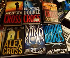 Lot of 6 James Patterson ALEX Cross novels, books 12-14, 16 + 2 others Hardcover
