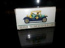 "Ford Model T #304 Plastic 2 3/8"" Readers Digest Toy with Box FREE SHIPPING"