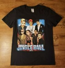 2013 Jingle Ball Concert  T Shirt Miami Demi Lovato Fall Out Boy Miley Cyrus (S)