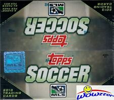 2013 Topps MLS Soccer Factory Sealed HUGE 24 Pack Retail Box+AUTOGRAPH/RELIC!!