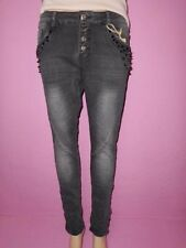 Lexxury Hosengröße 36 Damen-Jeans mit mittlerer Bundhöhe