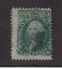USA 1867 USED 10 cents WASHINGTON WITH GRILL !!  8