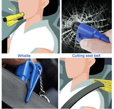 Comforly 3 in 1 Car Life Keychain Portable High Quality Key Chain Rescue Tool