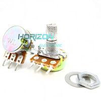 10Pcs Type B1K Ohm Linear Taper Rotary Potentiometer Panel Pot 3 Pin