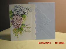 Carol's Rose Garden - Birthday - Blue & Pink Hydranges on cover