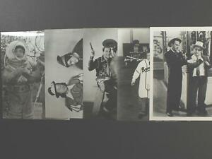 LOT: 30 1990s RE-STRIKE PHOTOGRAPHS of ABBOTT AND COSTELLO (5 Different)~
