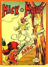 "trimestriel BD aredit "" MICK et MUFF "" n°12 - 1973 pop magazine"