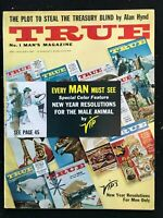TRUE Magazine - Jan 1961 - Pulp / Adventure / Men's Interest