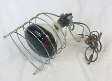 Vintage GE Model #3946 CLAMP Wire Cage Infrared Heat Light Lamp BAKELITE