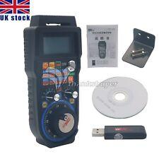 WHB04B 6-Axis CNC MACH3 Wireless Handwheel Manual Controller USB MPG UK Ship