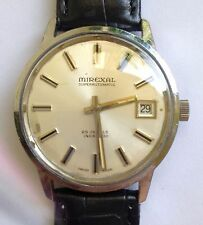 Vintage Mirexal  Super Automatic watch 25 jewels  cal 2783