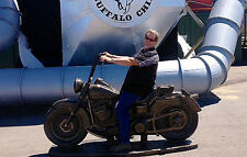 MOTORCYCLE,statue,Harley, art, Garden decor, home decor, Harley Davidson,