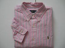 POLO RALPH LAUREN Men's Classic-Fit Multi-Striped Oxford Cotton Shirt S