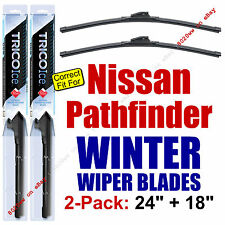 WINTER Wiper Blades 2-Pack Premium - fit 2005-2012 Nissan Pathfinder - 35240/180