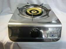 19MJ Portable LPG Cook Top Stove Single Gas Burner biggest output for indoor use