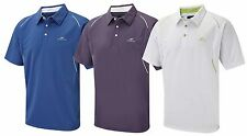Cypress Point Golf Polo Shirt Dark Lilac/Purple Moisture Wicking Large New