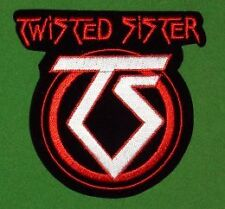 TWISTED SISTER PATCH Brodé Embroidered Logo NEUF ecusso