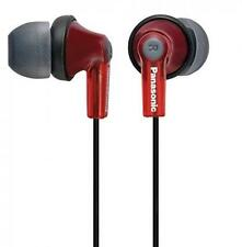 Panasonic Canal Earphone Red Japan import