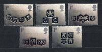 s3112) UK GREAT BRITAIN 2001 MNH** Greeting stamps 5v