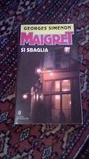 GEORGES SIMENON - MAIGRET SI SBAGLIA - MONDADORI - 1991