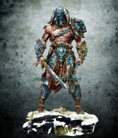 Unpainted 75mm Ancient Warrior Stand with Base Resin Figure Model Garage Kits GK
