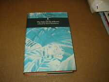The Faber Book of Beasts edited by Paul Muldoon(poetry,mammals,reptiles,birds