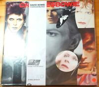 David Bowie Changes Bowie Ryko Clear Vinyl RALP01712 Double LP MINT/SLV:EX