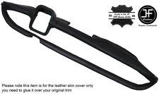 BLACK STITCHING DASH DASHBOARD LEATHER COVER FITS MERCEDES W110 W111