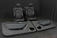 Org Audi a5 8t Coupe S-LINE PELLE dotazione Pelle Sedili Sportivi leather seats RHD