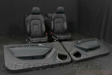AUDI A5 8T Coupe S-LINE Lederausstattung Leder Sport Sitze leather seats RHD