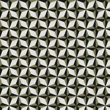 1:12th Classic Diamond Design Navy Blue And Green Grey Floor Tile Sheet