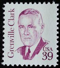 1985 39c Grenville Clark, World Peace through Law Scott 1867 Mint F/VF NH