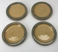 """Pfaltzgraff American Folk Art Mafa Dessert/Salad 7"""" Plates, Set of 4"""