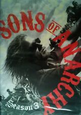 SONS of ANARCHY The COMPLETE THIRD SEASON 13 Episodes +Special Features SEALED