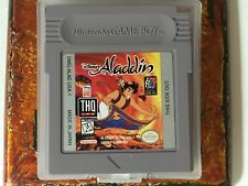 Aladdin Nintendo Gameboy Color GBC Cleaned Tested Authentic Game Boy